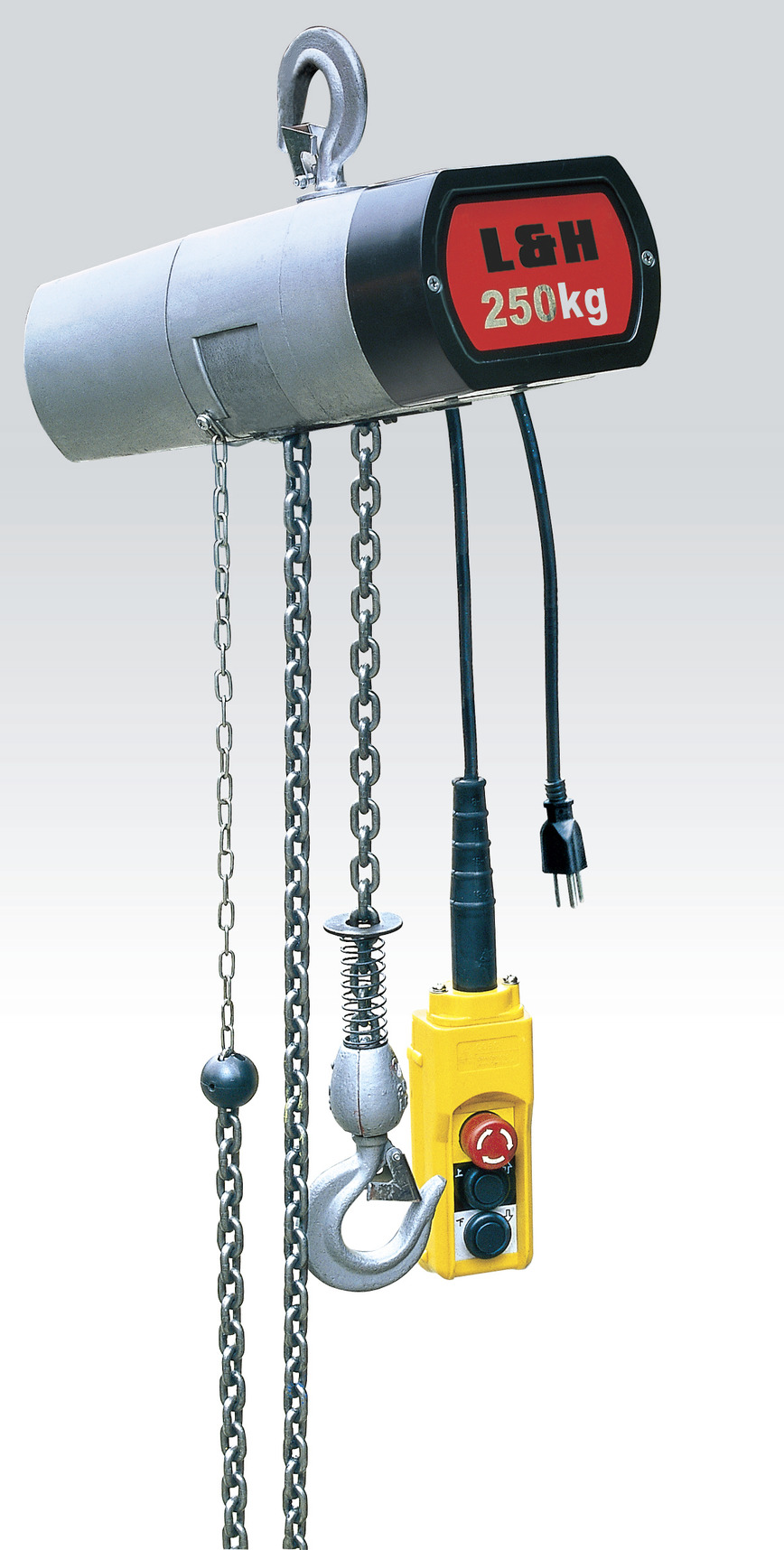 Logo electric chain hoist