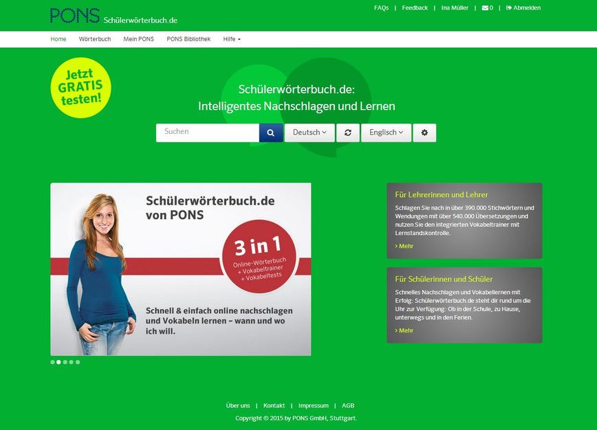 Logo Schülerwörterbuch.de