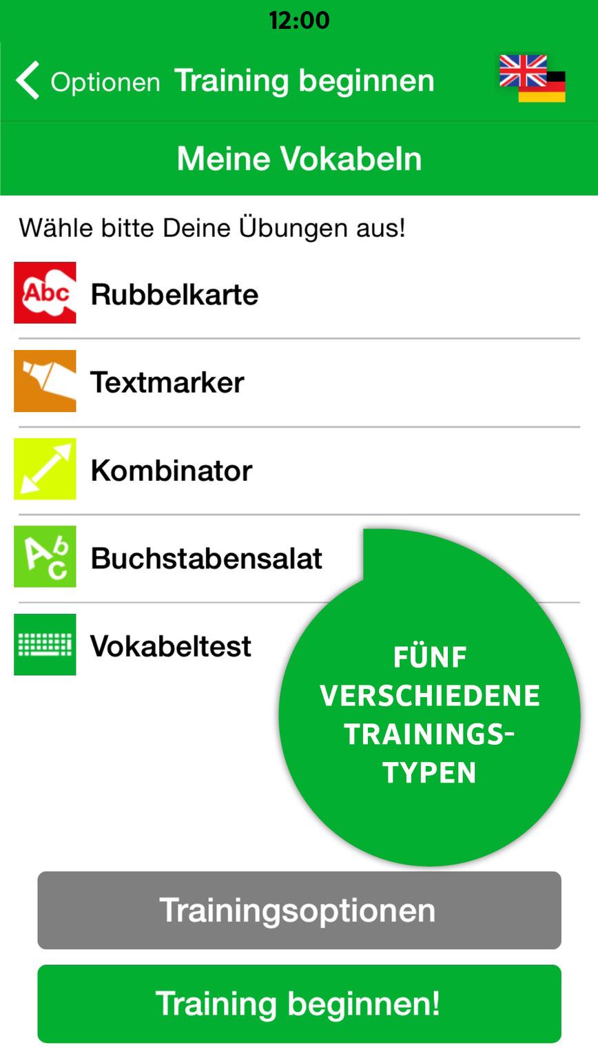 Logo PONS Vokabeltrainer