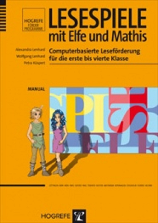 Logo Lesespiele mit Elfe und Mathis