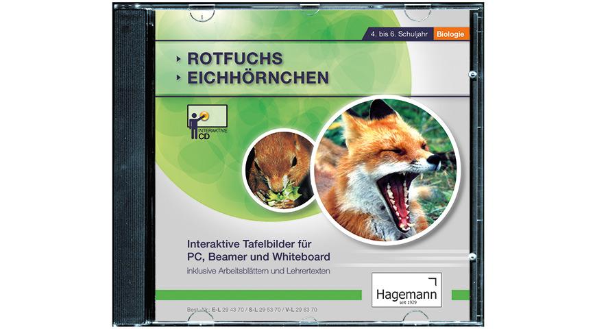 Logo Rotfuchs, Eichhörnchen