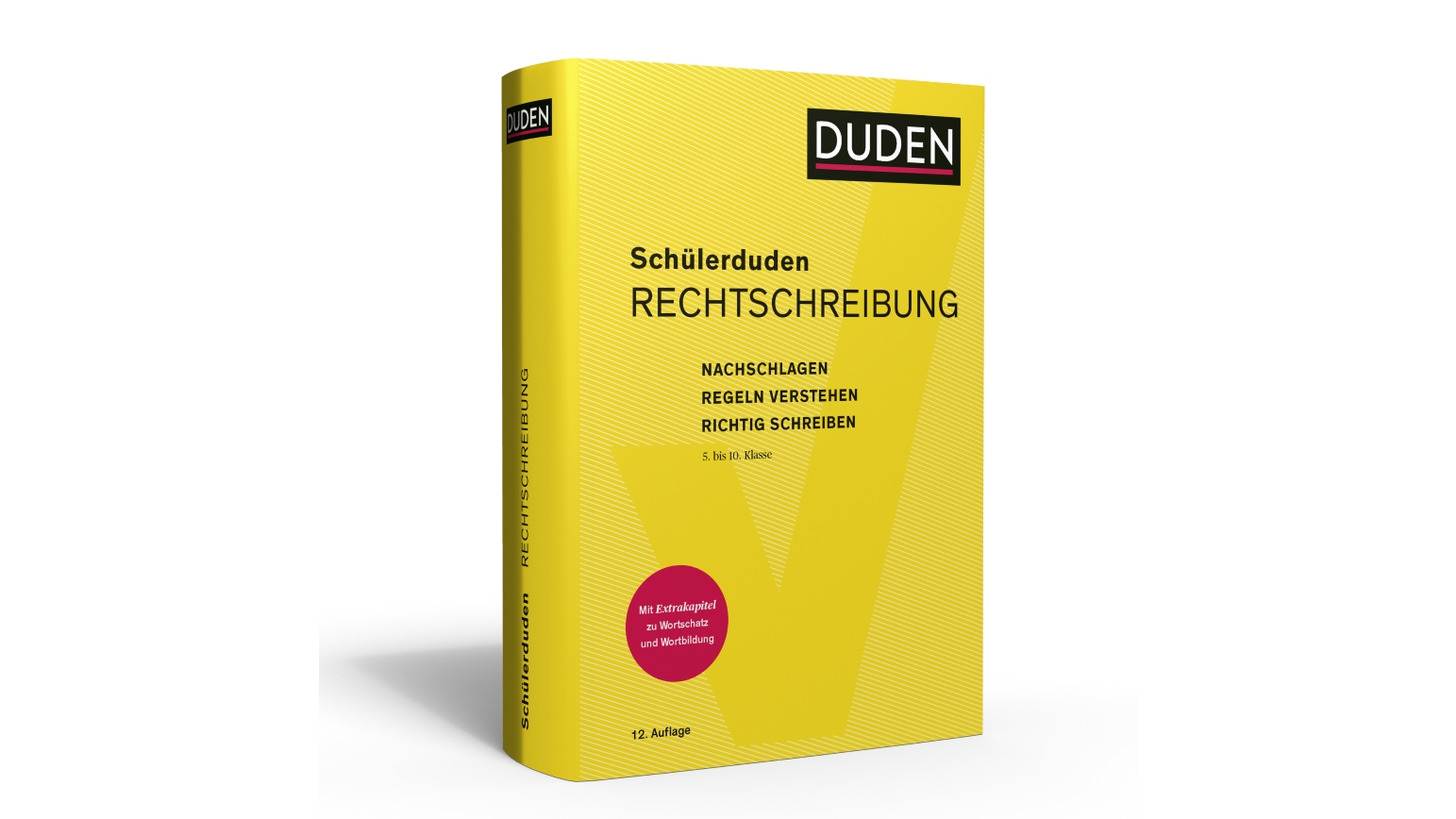 Logo Schülerduden Rechtschreibung
