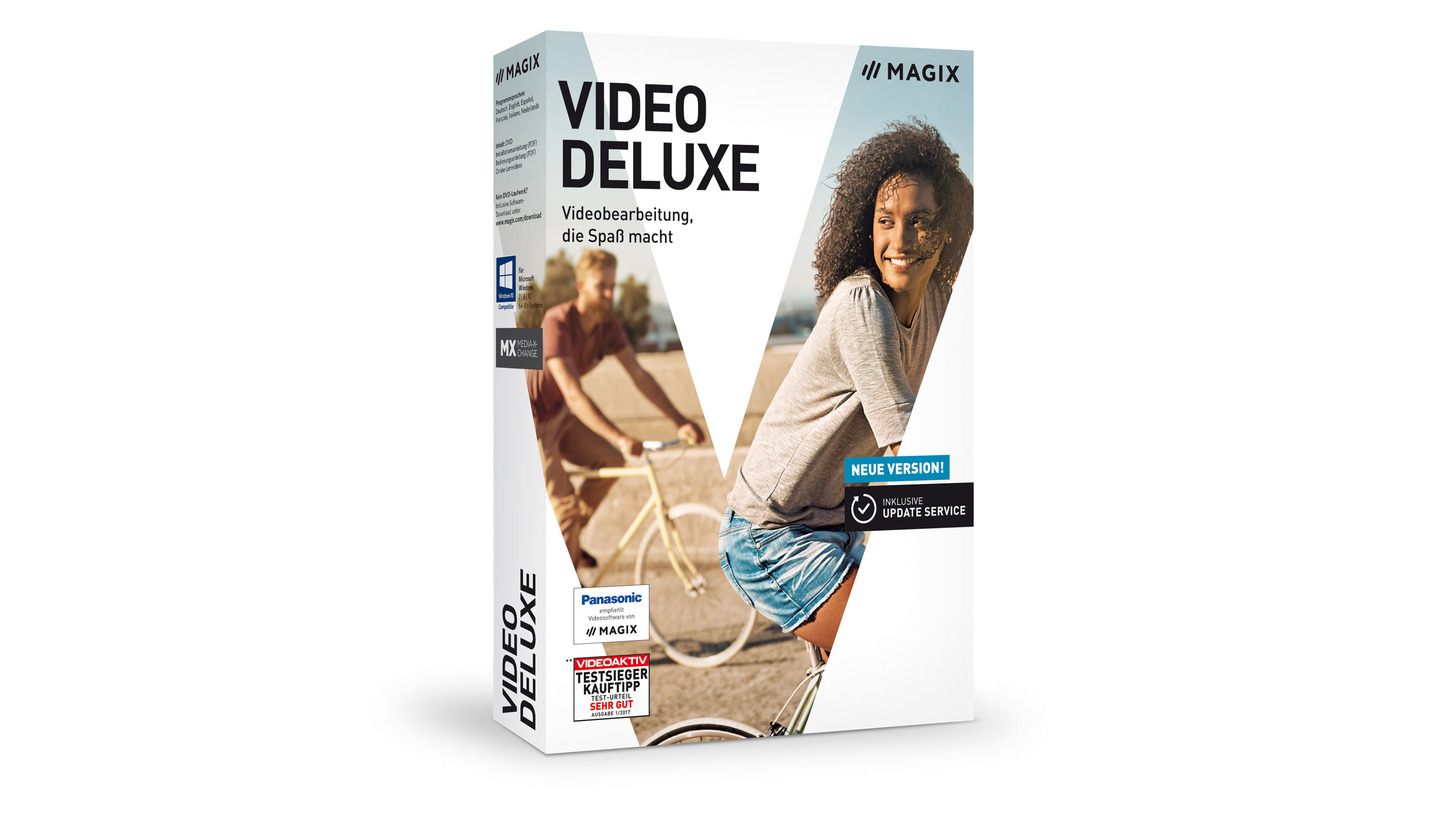 Logo MAGIX Video deluxe