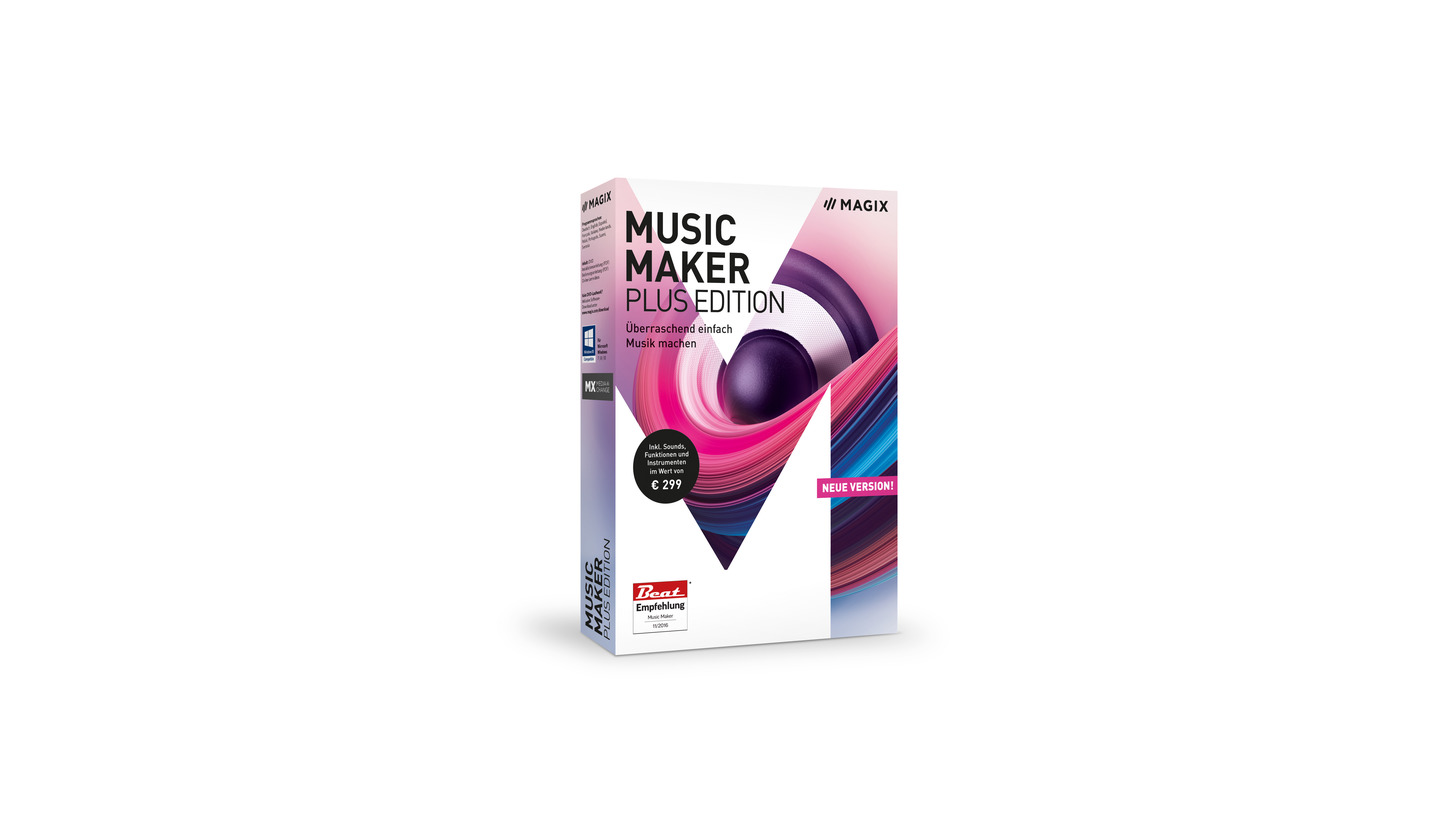 Logo MAGIX Music Maker Plus