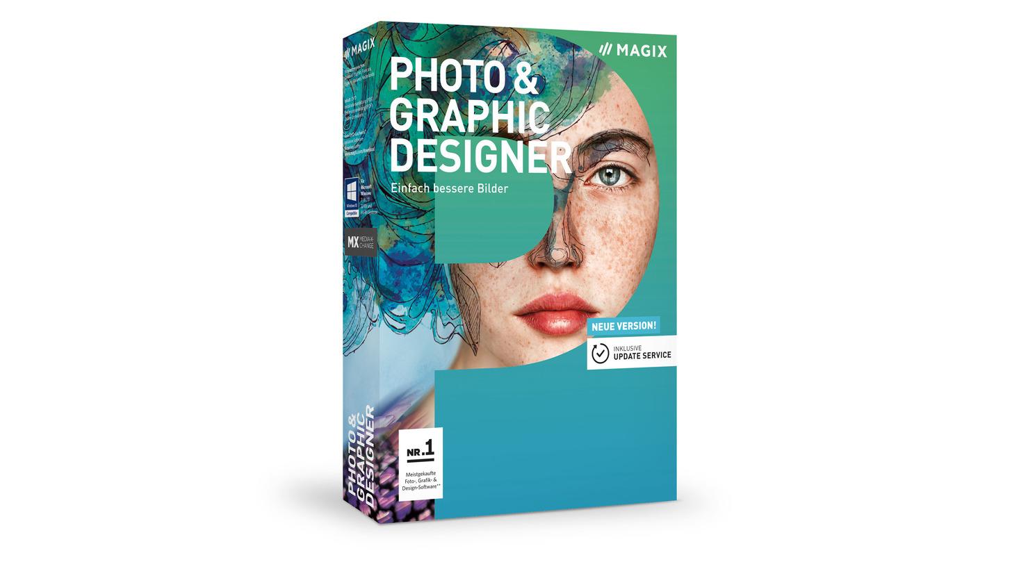 Logo MAGIX Photo & Graphic Designer
