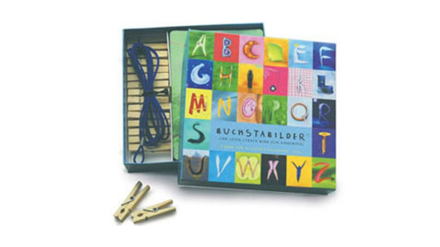 Logo Das BuchstaBilder-Postkarten-Set