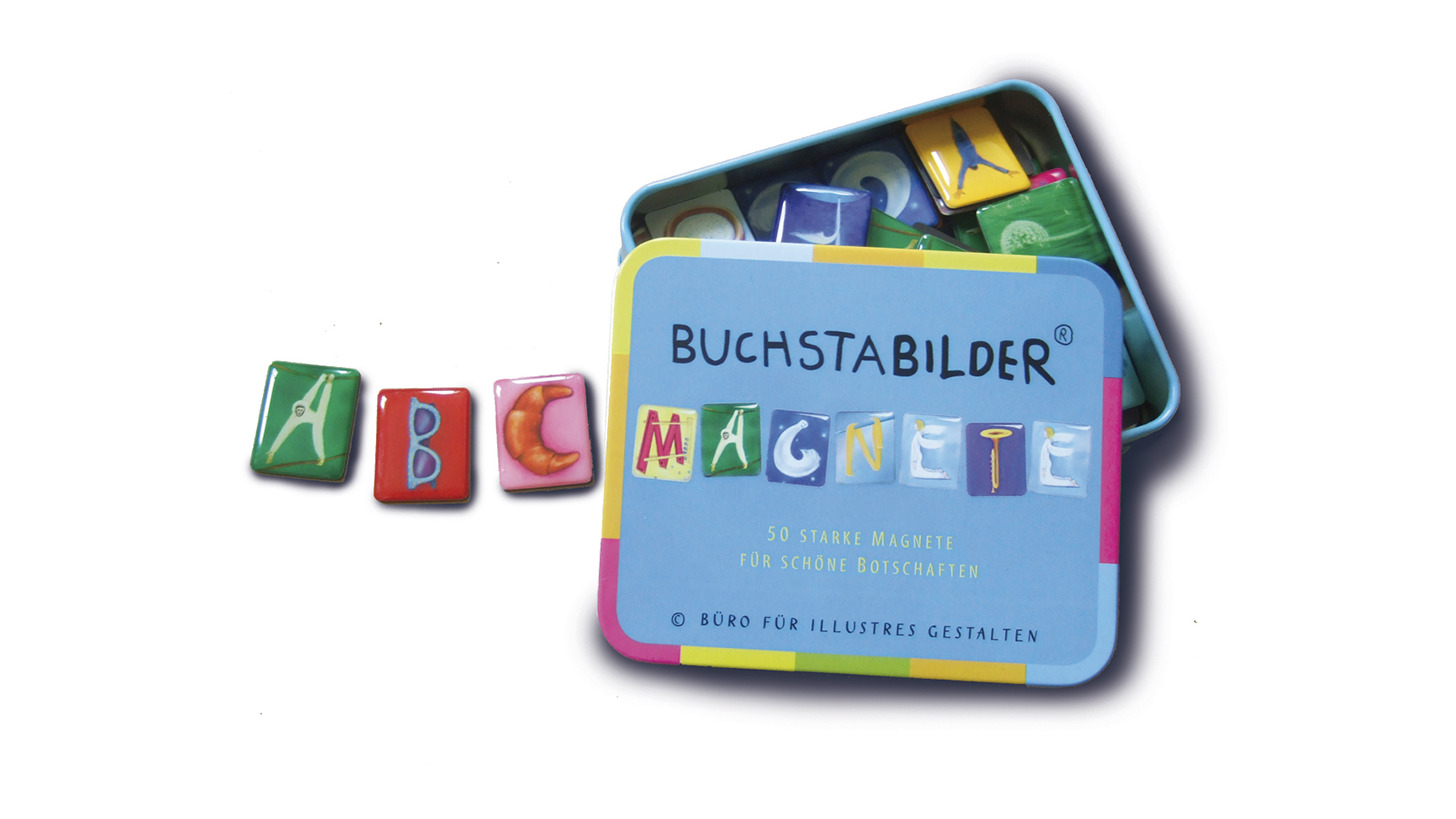 Logo BuchstaBilder-Magnete