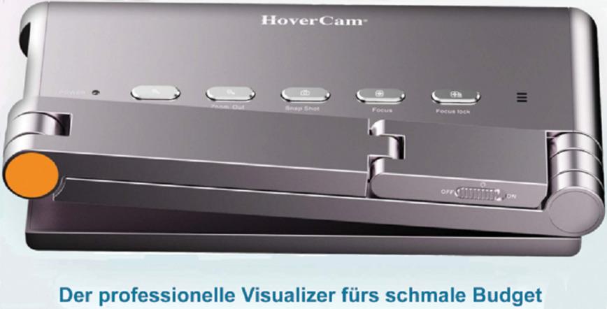 Logo HoverCam Z5 - Viper 5MP-Dokumentenkamera