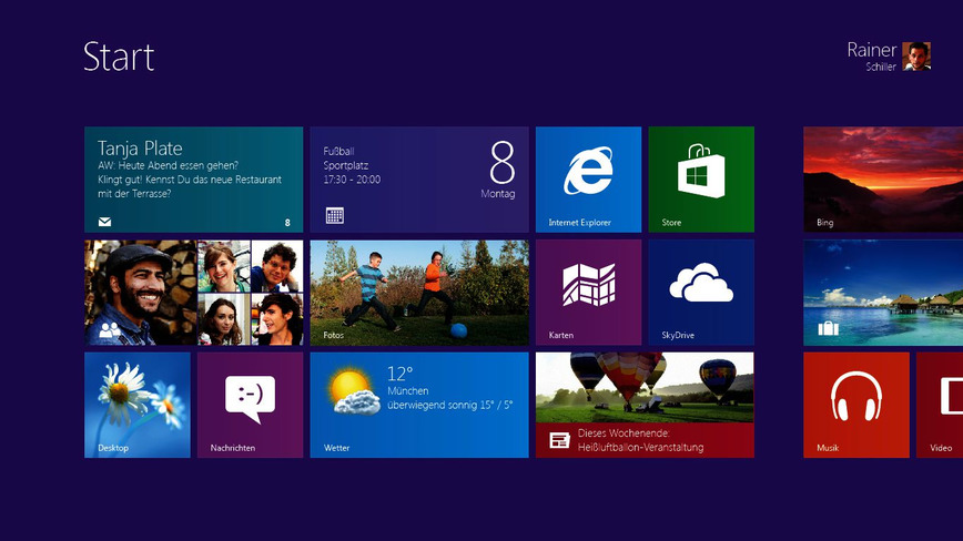 Logo Windows 8.1 Geräte