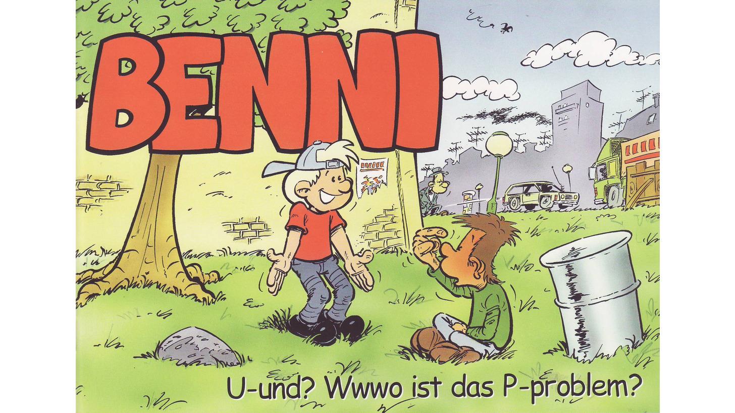 Logo Benni 1: U-und? Wwwo ist das P-problem?