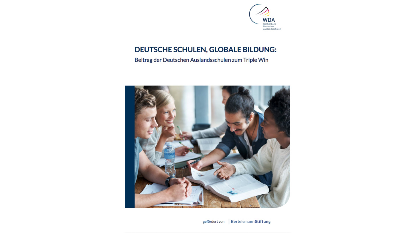 Logo Studie: Deutsche Schulen Globale Bildung