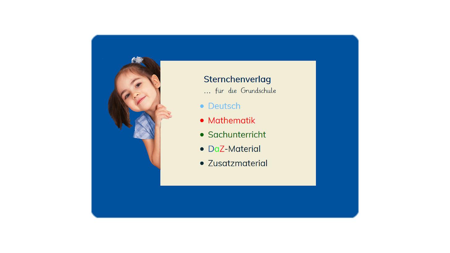 Logo Sternchenverlag für die Grundschule