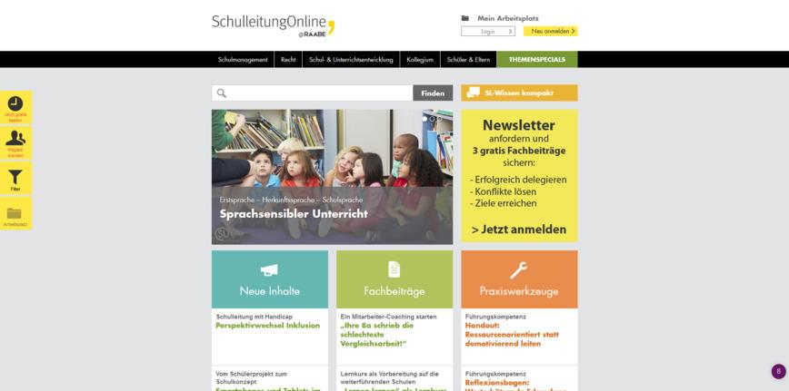 Logo SCHULLEITUNG ONLINE