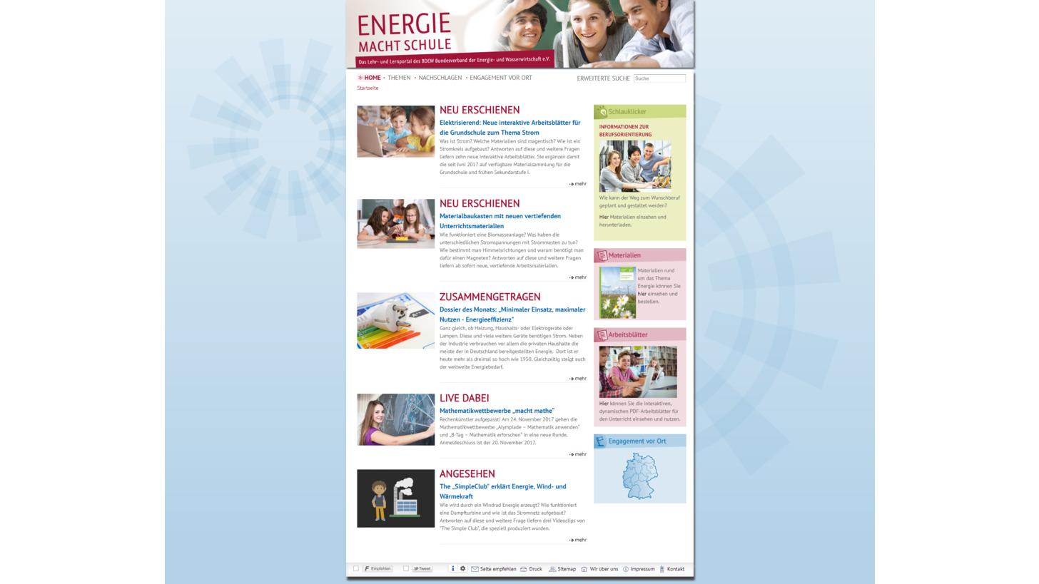 Logo Energie macht Schule
