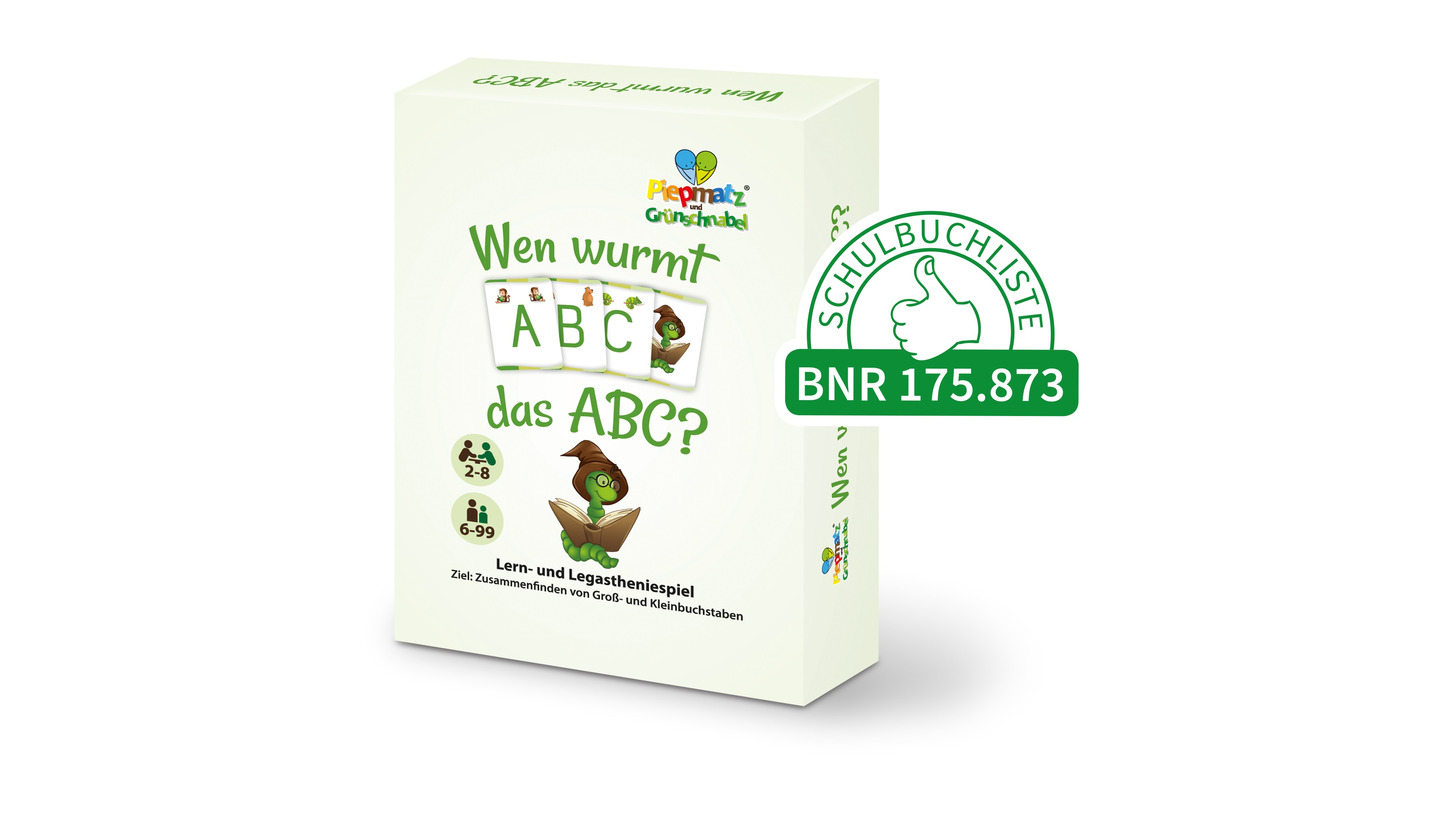 Logo Wen wurmt das ABC?