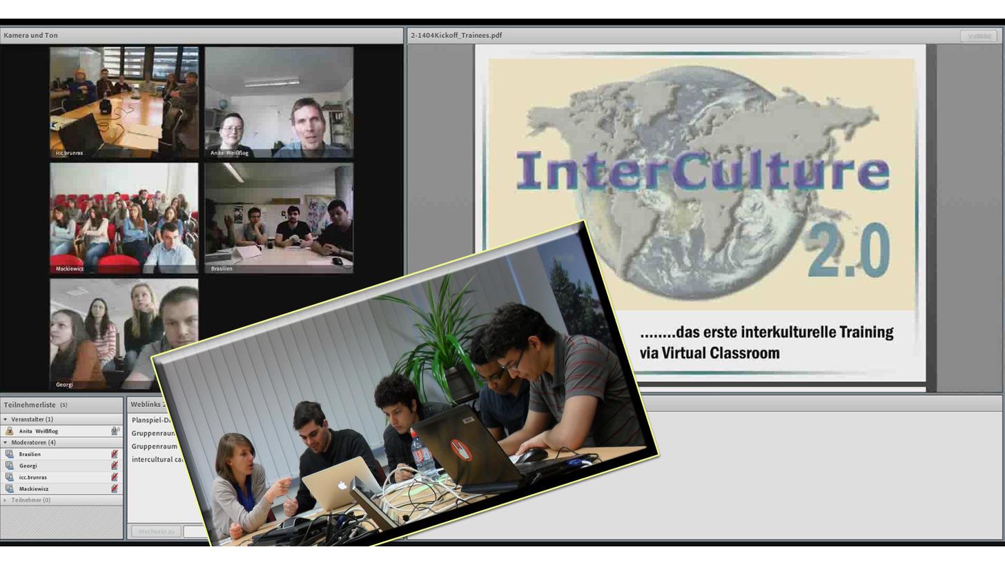 Logo Interkulturelles Lernen online