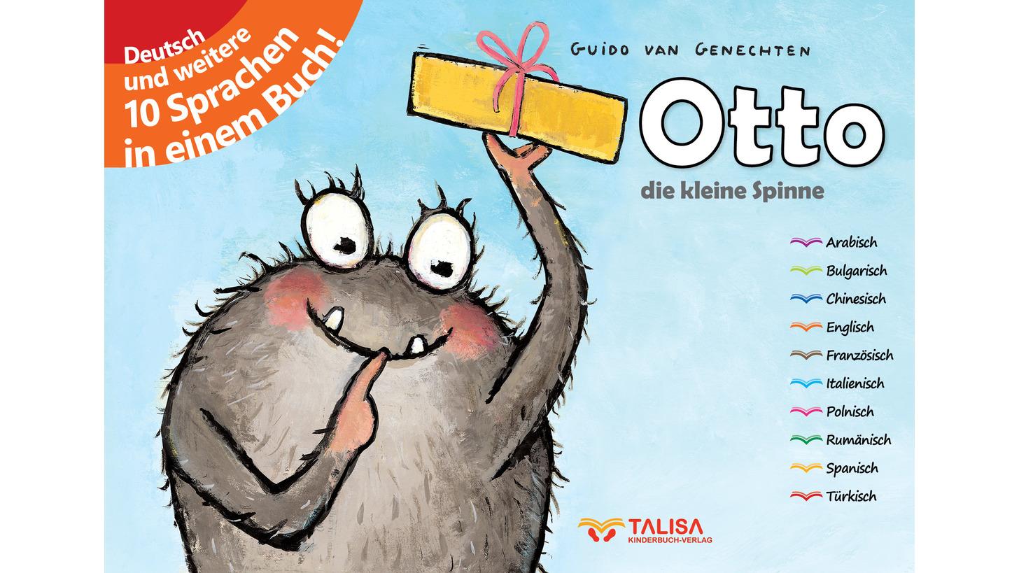 Logo Otto, die kleine Spinne/Multilingual