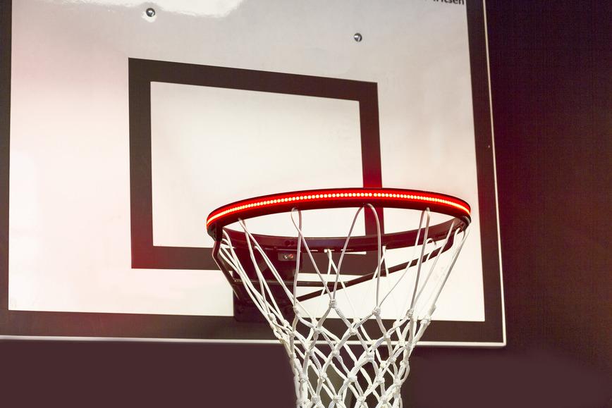 Logo LED-Basketballring