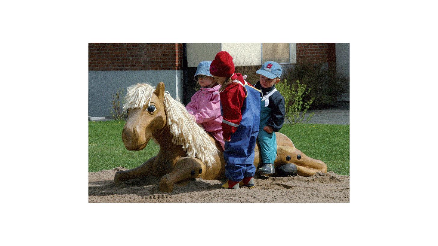 Logo Spielskulptur »Pferd«
