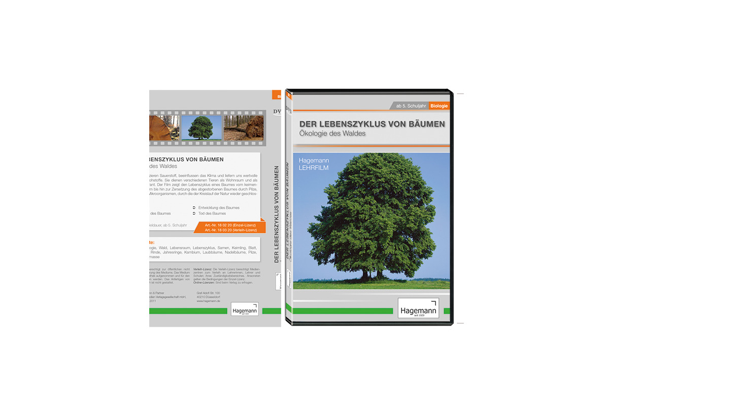 Logo Der Lebenszyklus von Bäumen