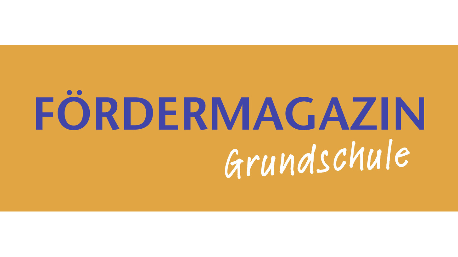 Logo Fördermagazin Grundschule