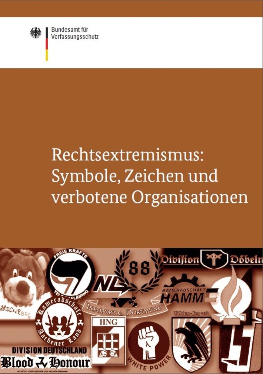 Logo Broschüre Rechtsextremismus