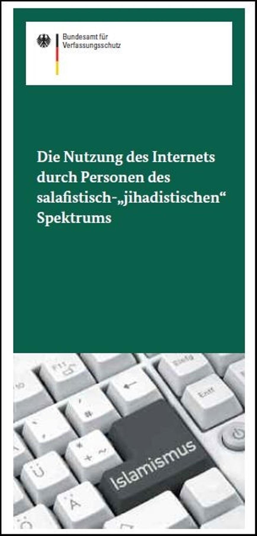 Logo Broschüre Salafismus und  Internet