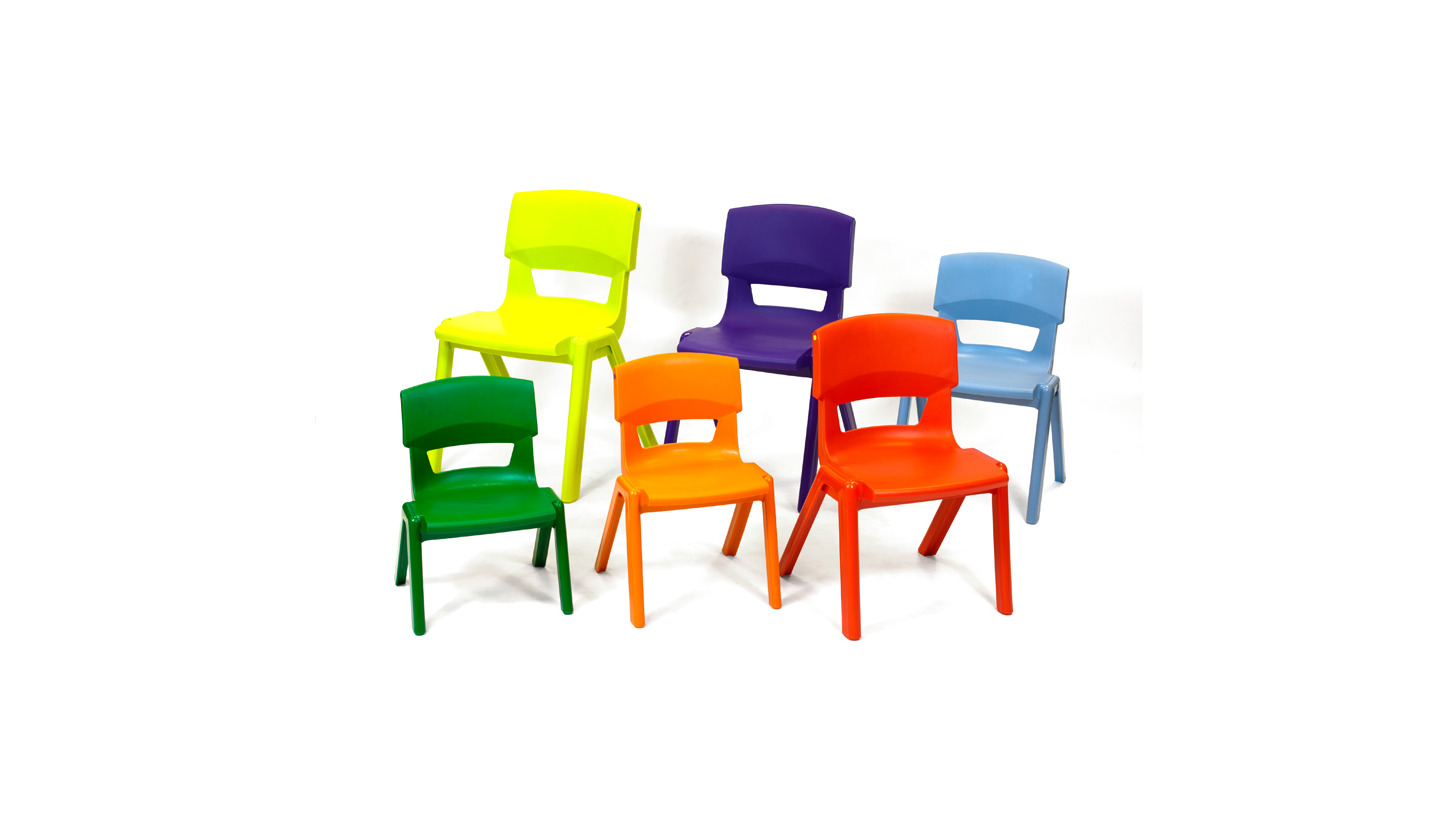 Logo Postura+ school chairs