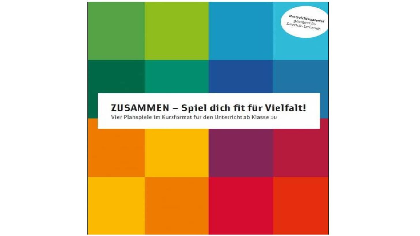 Logo ZUSAMMEN - Spiel dich fit für Vielfalt