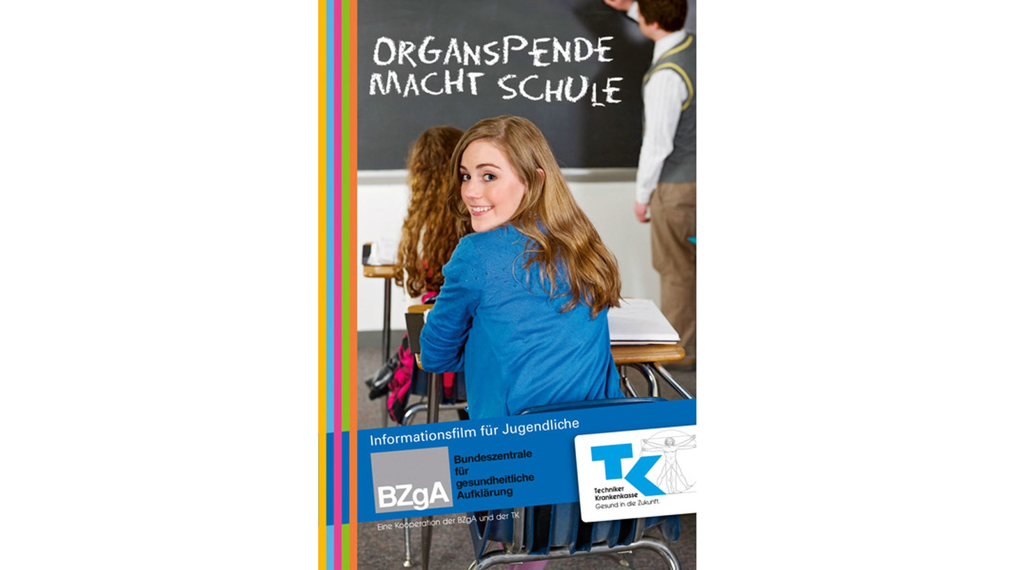 "Logo ""Organspende macht Schule"""