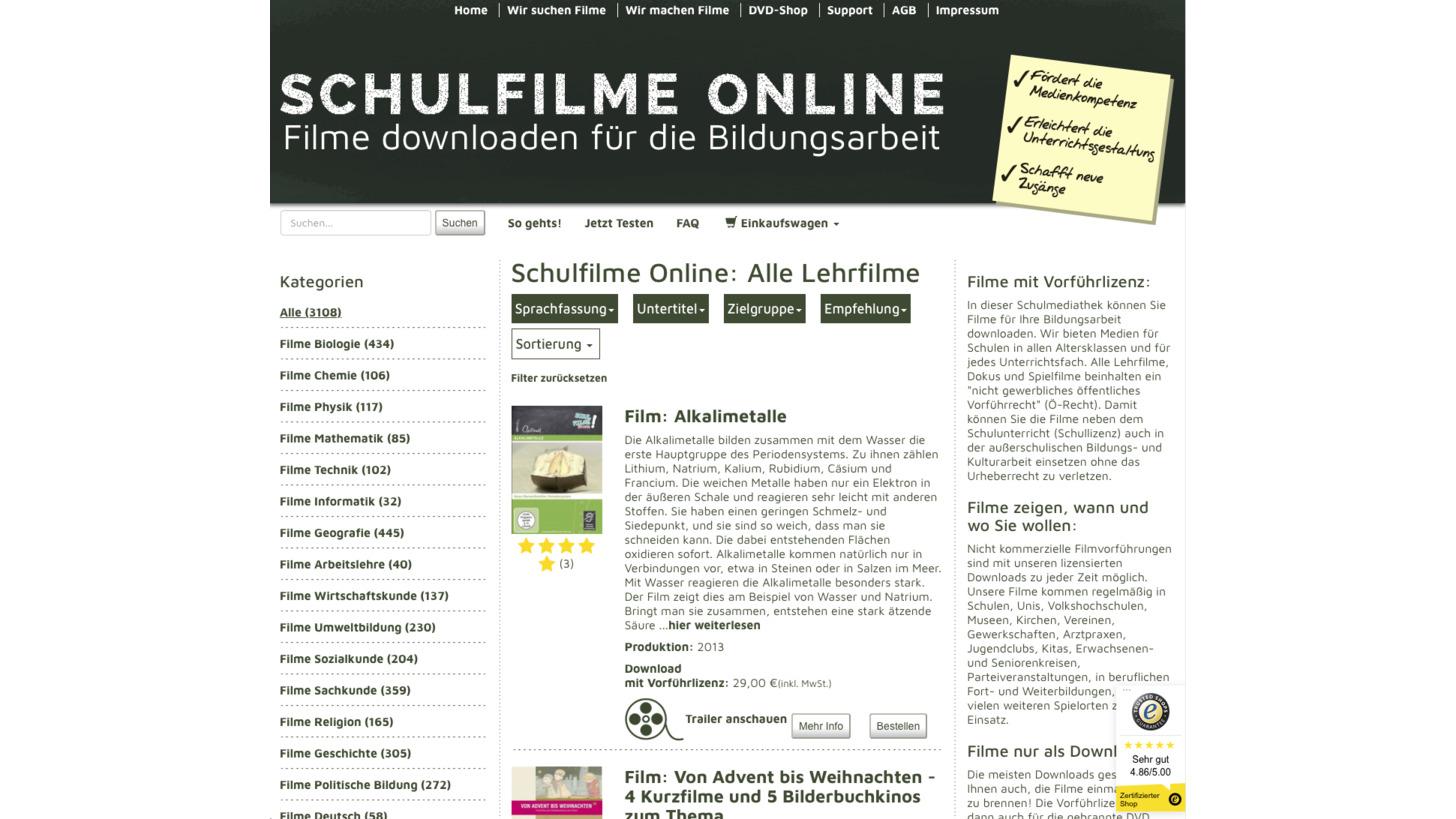 Logo Schulfilme-Online.de