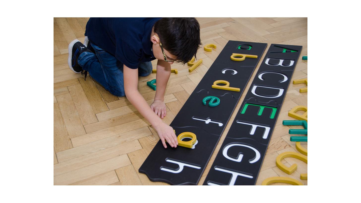Logo Groß- und Kleinbuchstaben