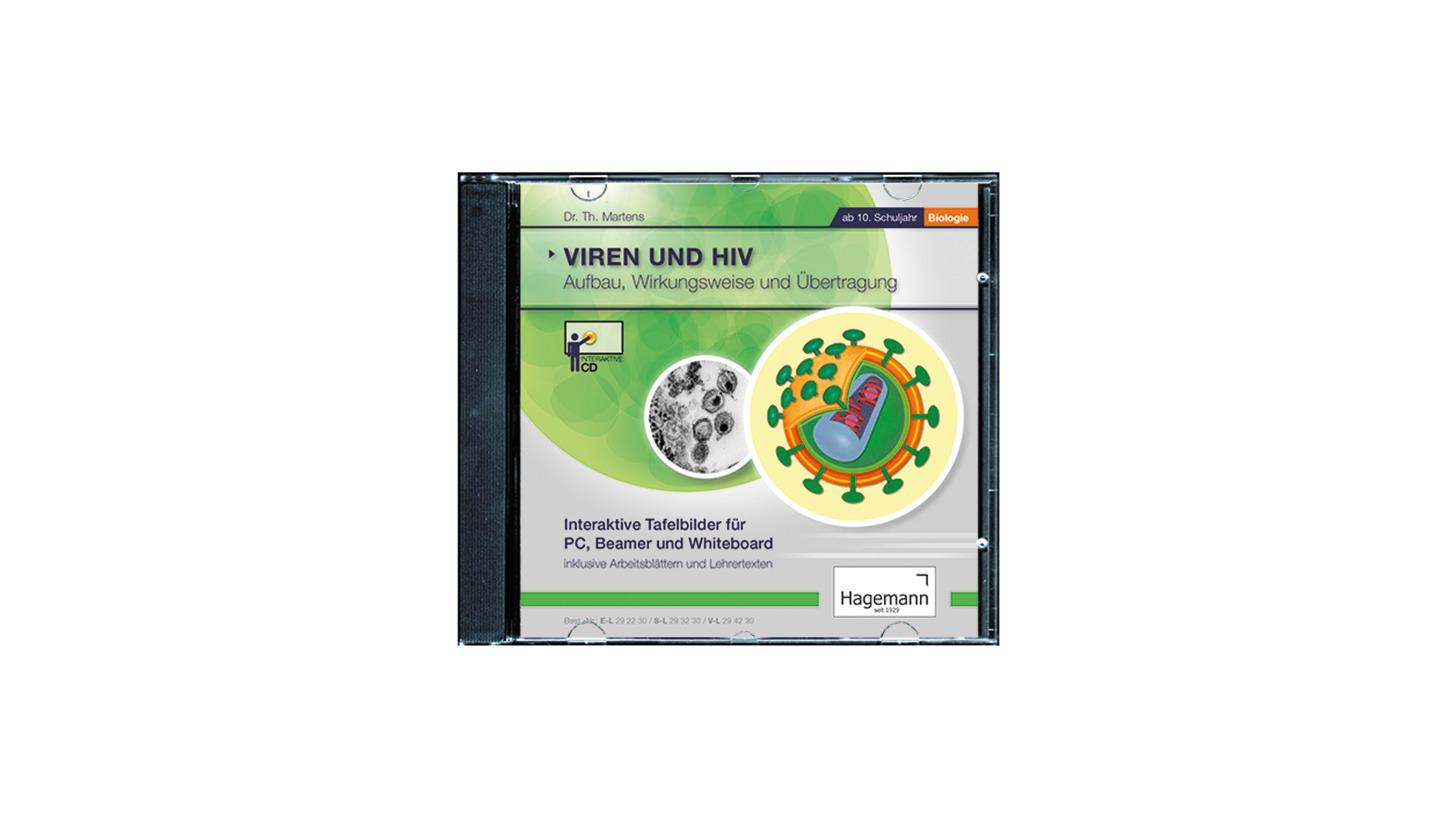 Logo Viren und HIV