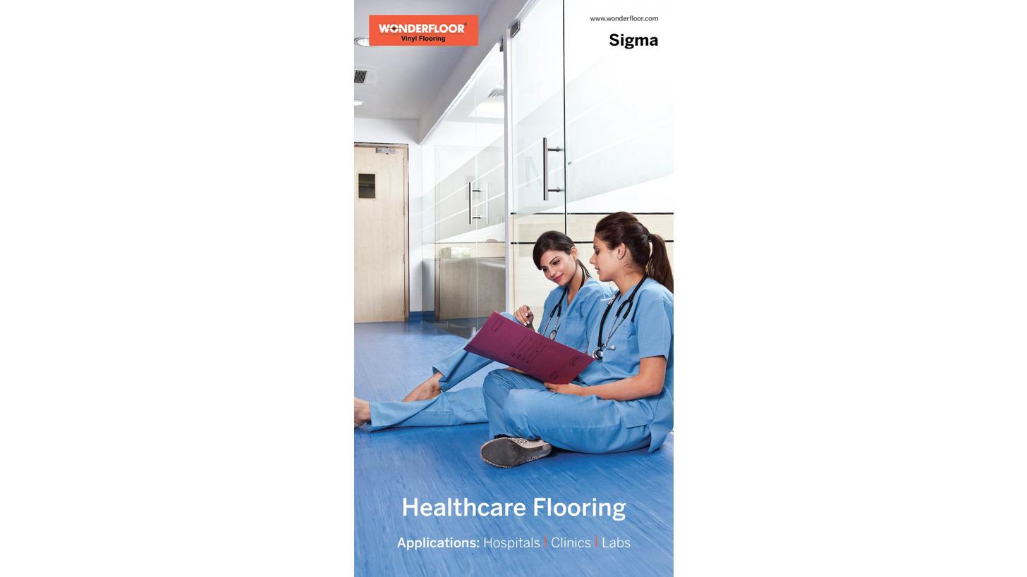 Logo SIGMA (HEALTHCARE FLOORING)