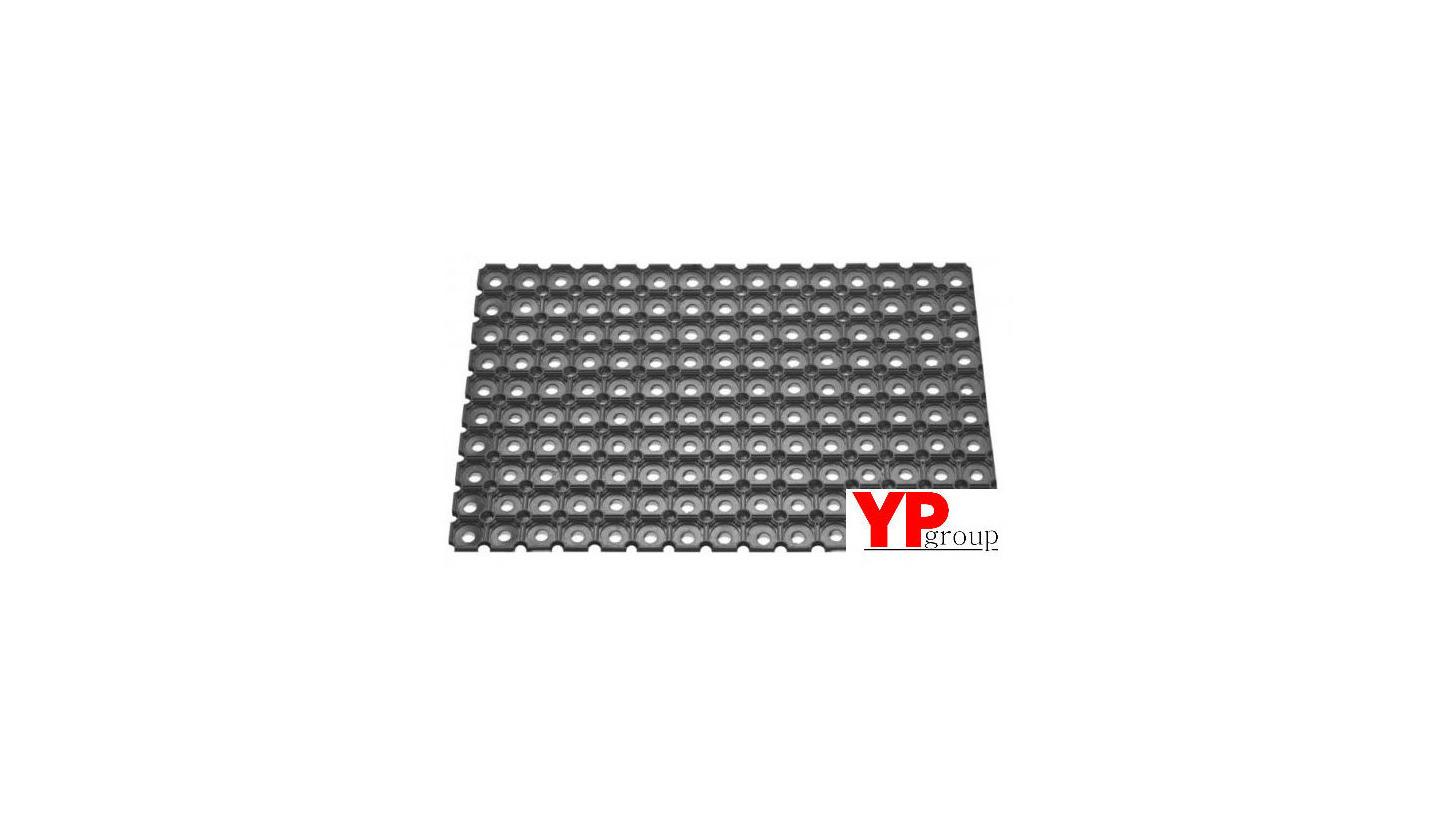 Logo Rubber Honeycomb 100% rubber mat K-24(m)