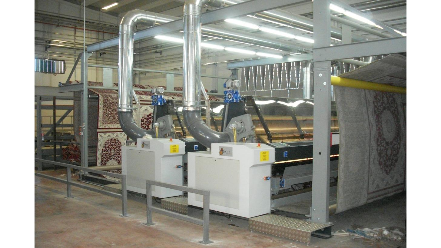Logo Finishing machines for carpets