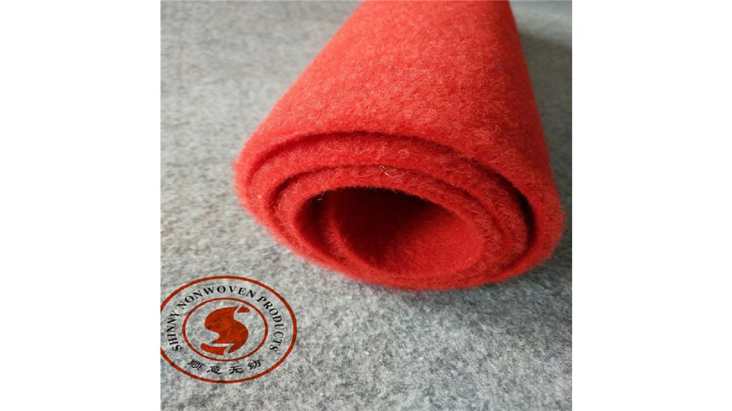 Logo nonwoven needle punch carpet, felt