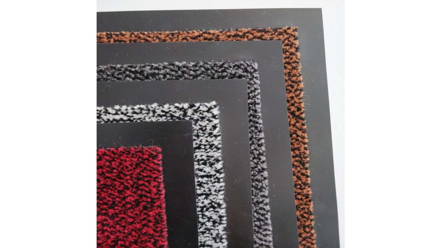 Logo cut pile tuft carpet