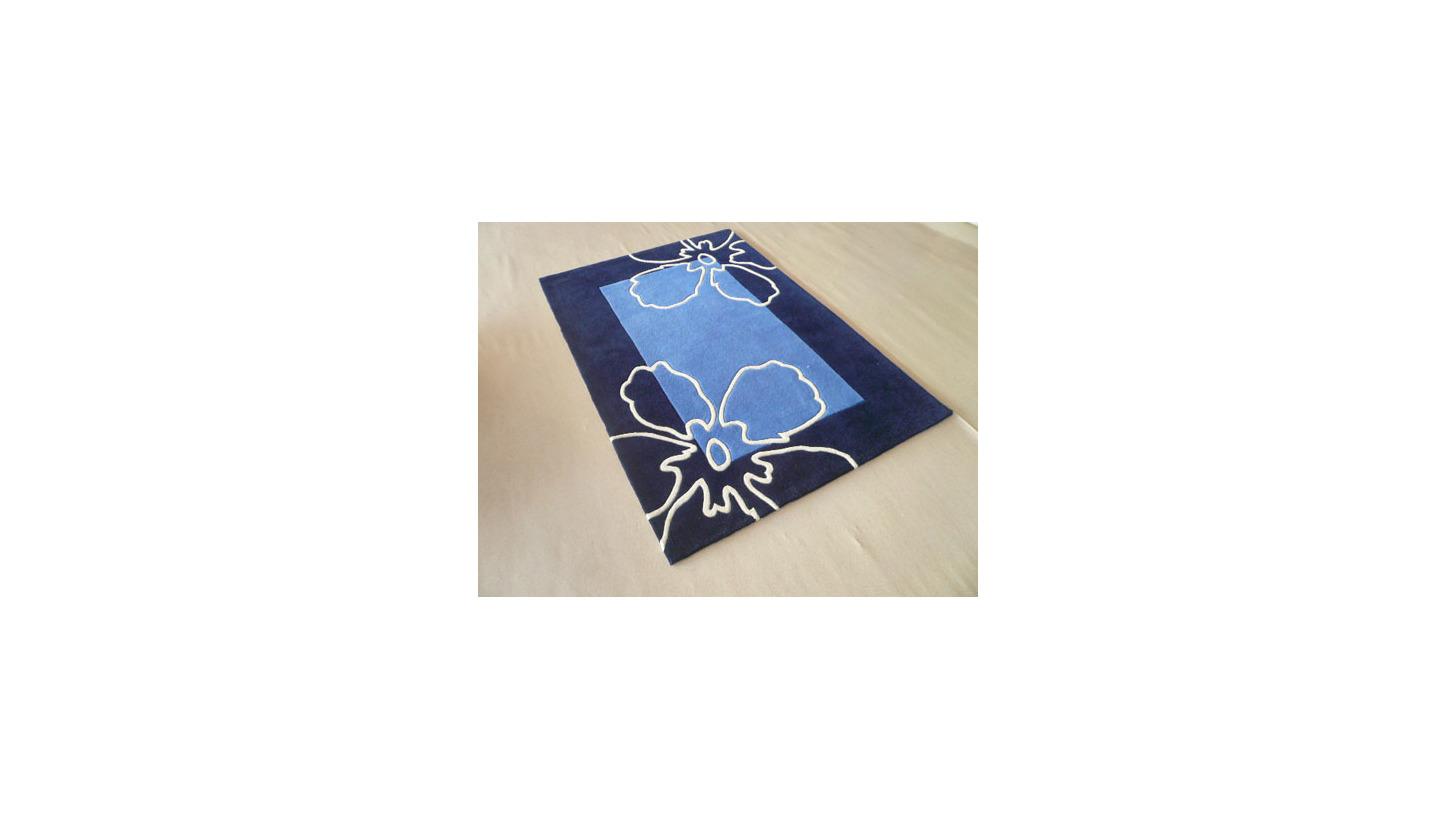 Logo Acrylic hand-tufted rug