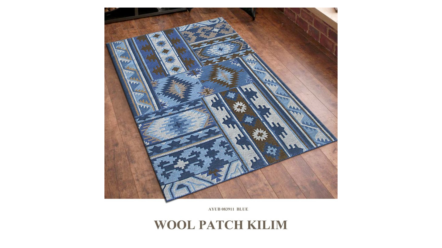 Logo Woollen Patch Kelim