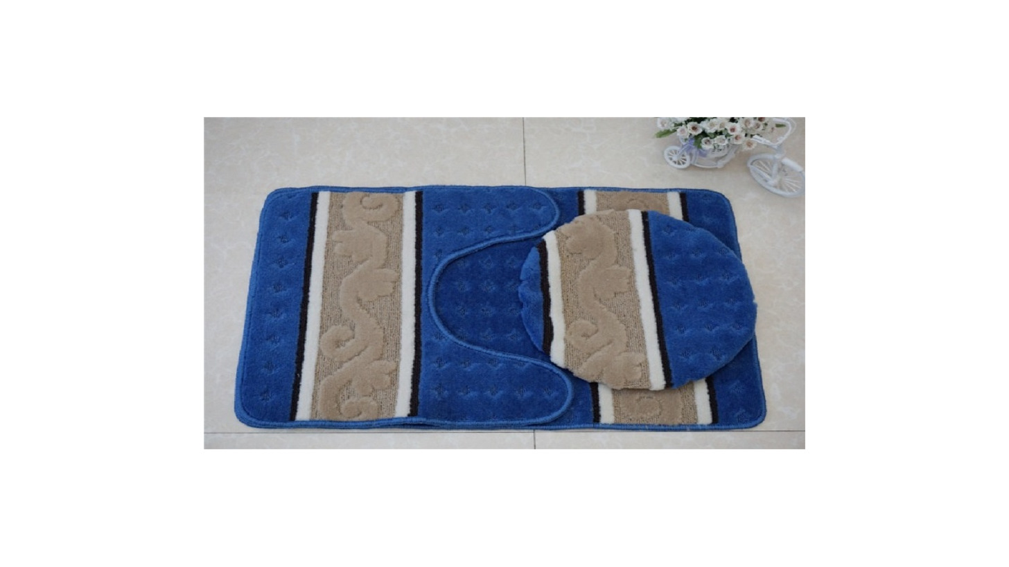 Logo PP bath mat set