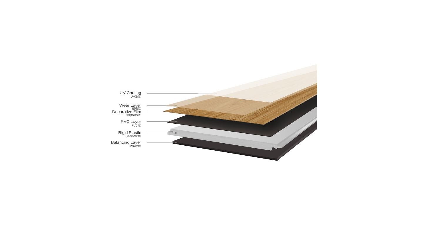 Logo Rigid Vinyl Plank/ Tile