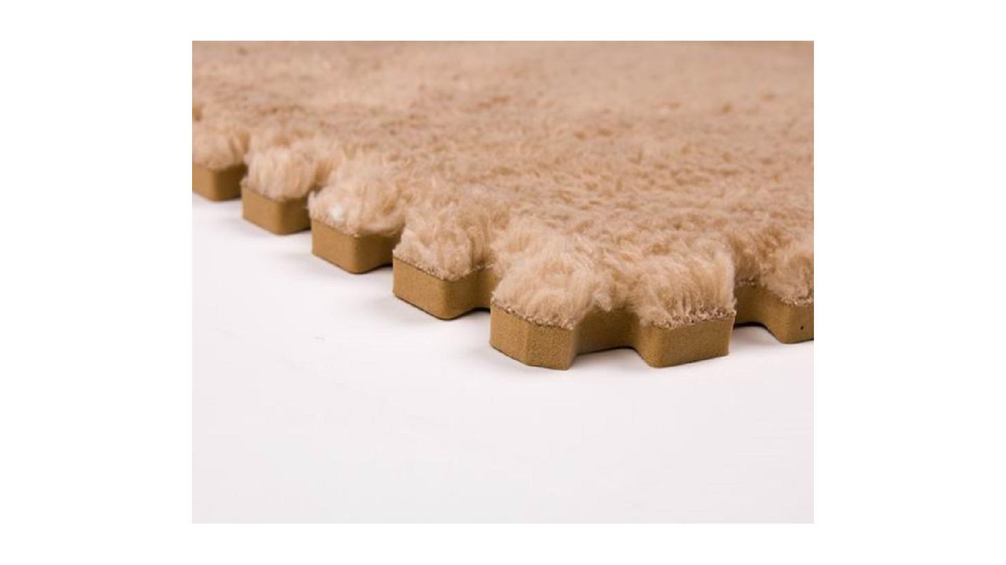 Logo Interlocking carpet floor mat