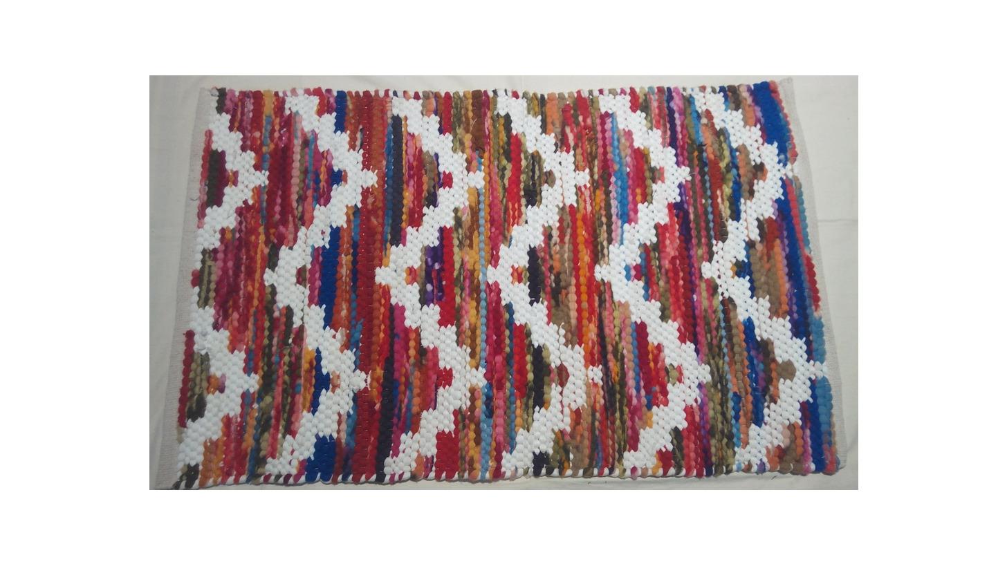 Logo Cotton Rag Rugs  Durry