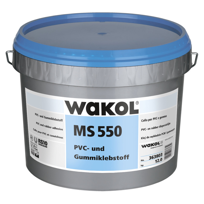 Logo WAKOL  MS 550 PVC and Rubber Adhesive