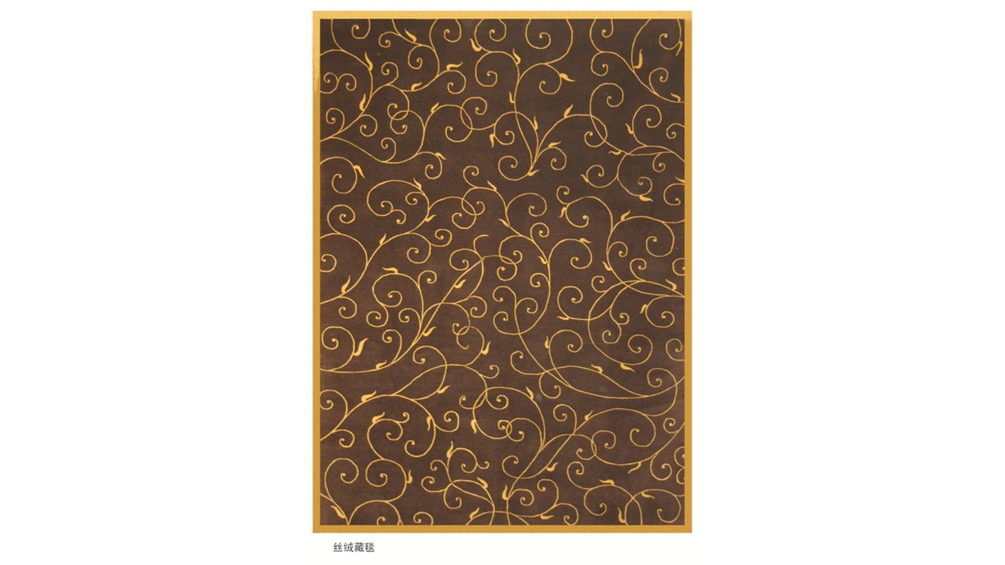 Logo Velvet Tibetan Carpets