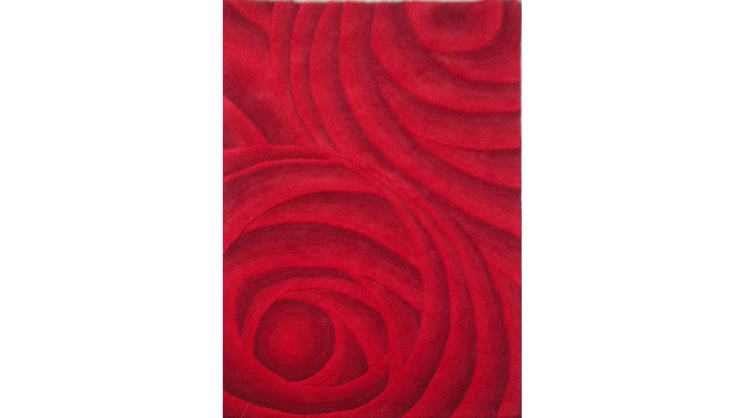 Logo 3D Handtufted woollen carpet