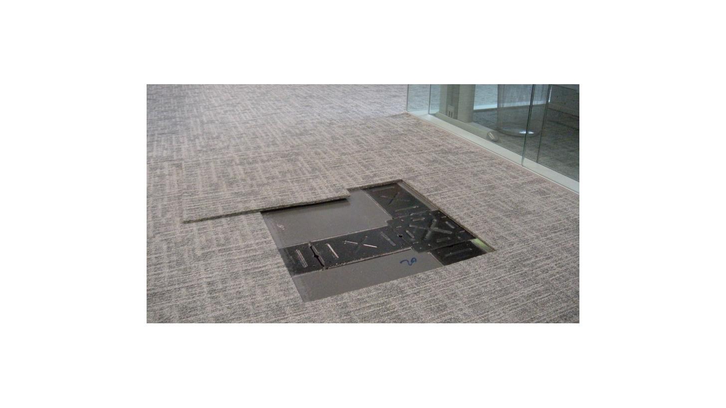 Logo Low-Profile Access Floor - CamassCrete