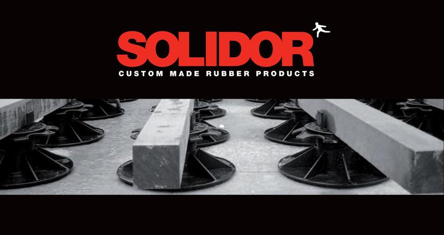 Logo Solidor screwjacks / pedestals