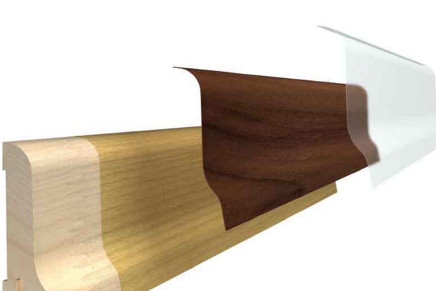 Logo Furnierte Holzleisten